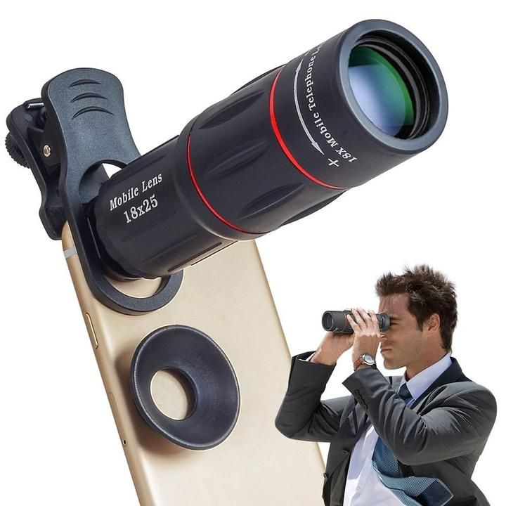 Universal HD18X Telescope Optical Zoom Phone lens, Best