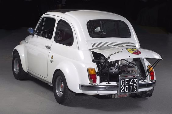 Fiat Abarth 695 Esse Esse Competizione 1969 1971 Avec Images