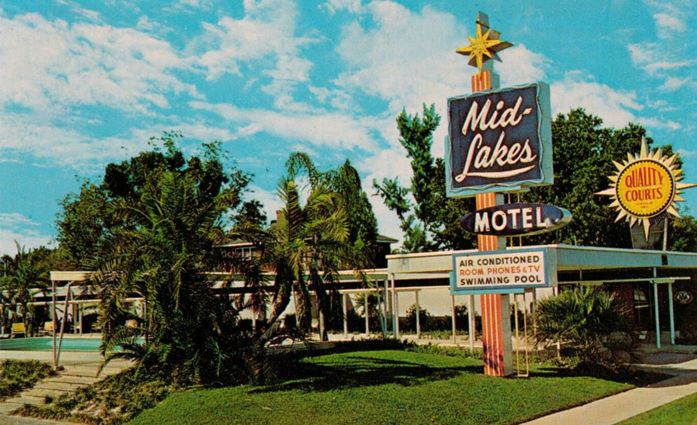 midcenturymodernmotels Motel, Vintage hotels, Summer travel