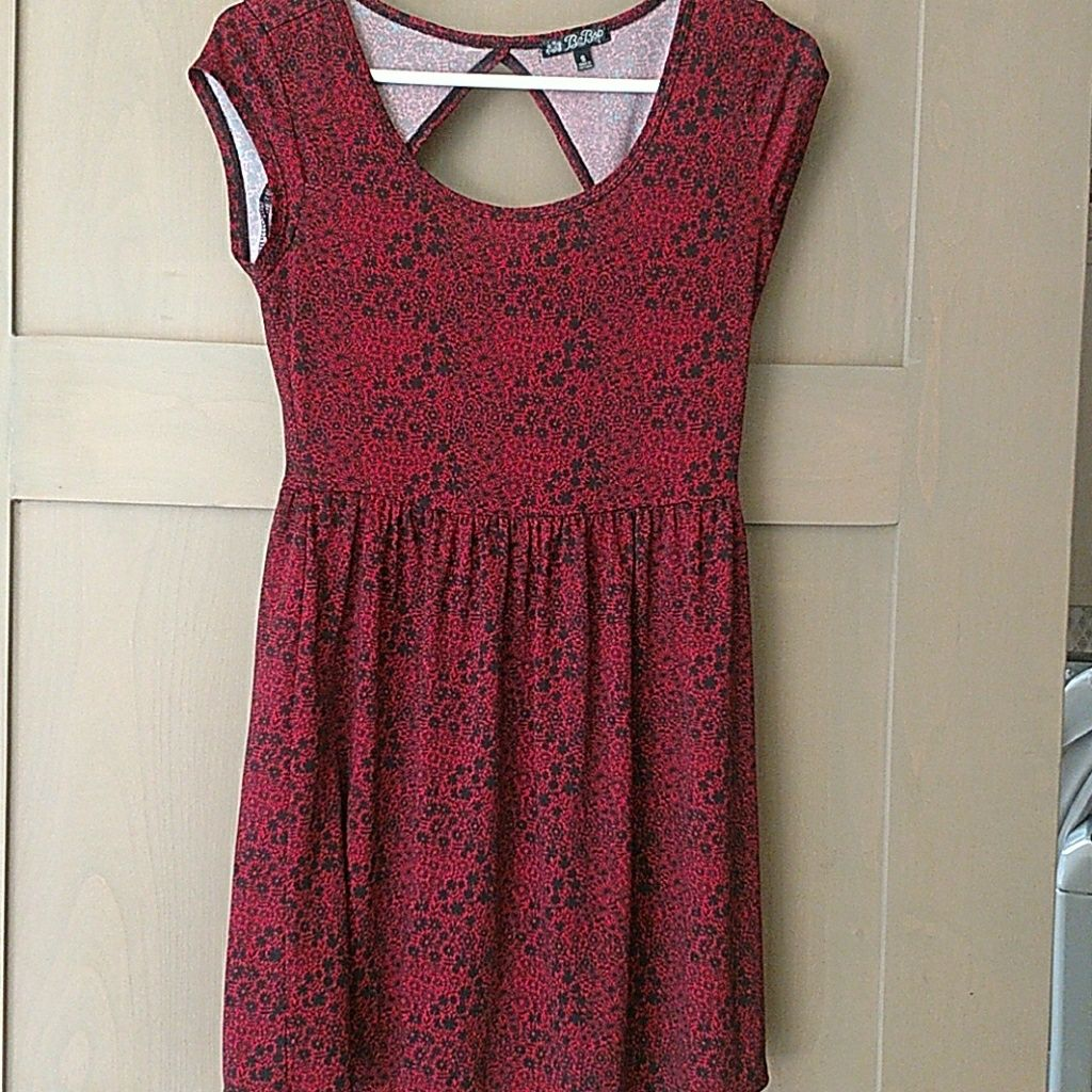 Super cute black and red dress by bebop products