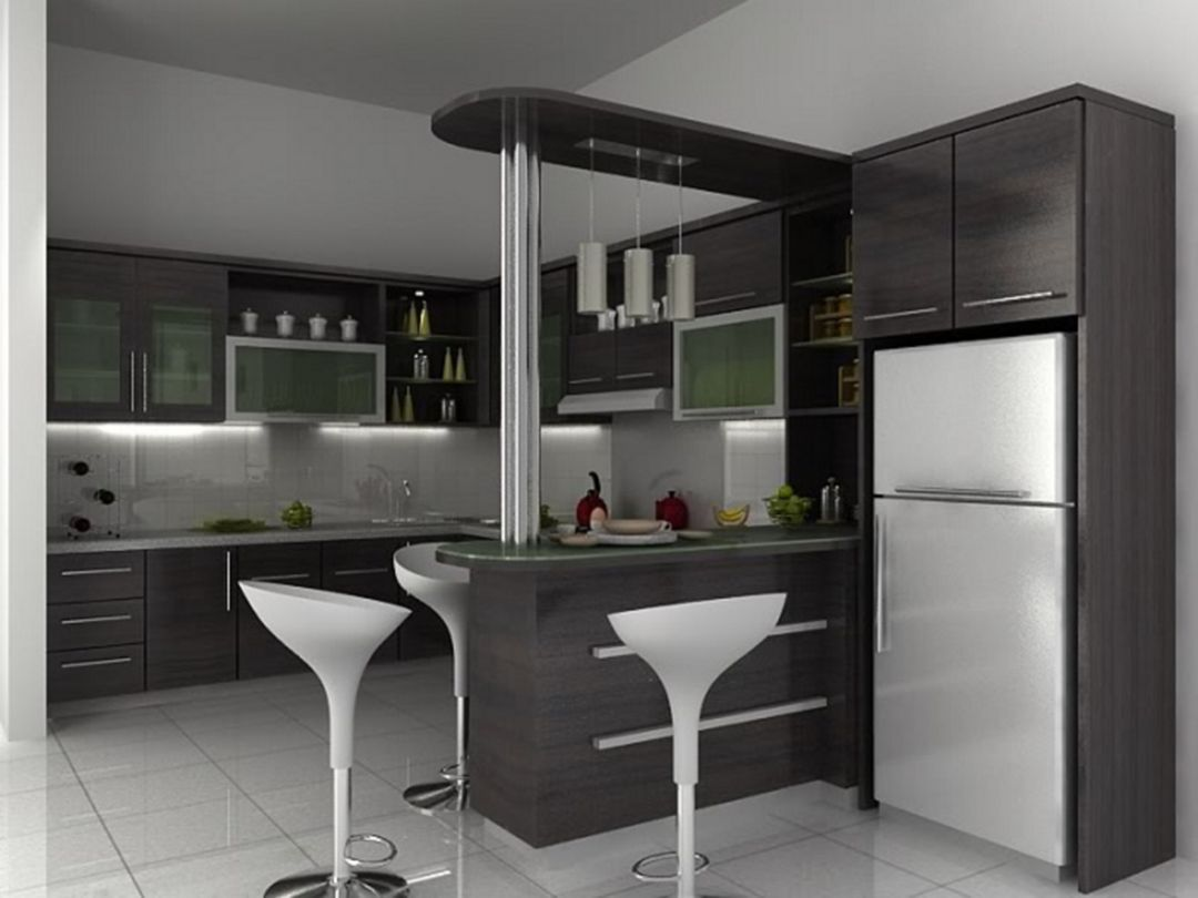 15 Gorgeous Minibar Designs Ideas For Your Kitchen Desain Ruang