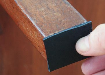 Remove Those Harsh Metal, Plastic Or Sticky Felt Pads From Bottom Of Wooden