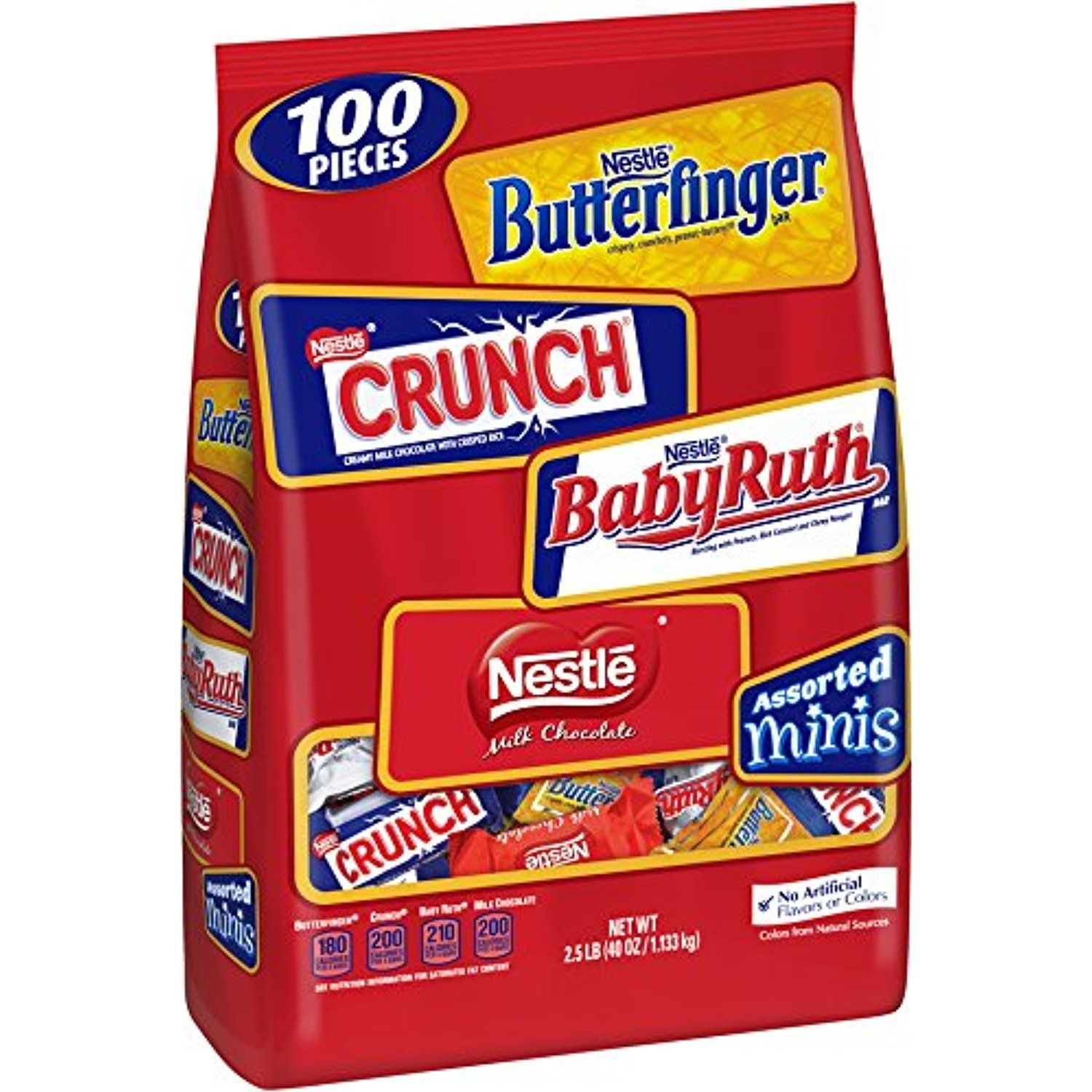 Nestle Chocolate Assorted Minis Bag 40 Ounce For More
