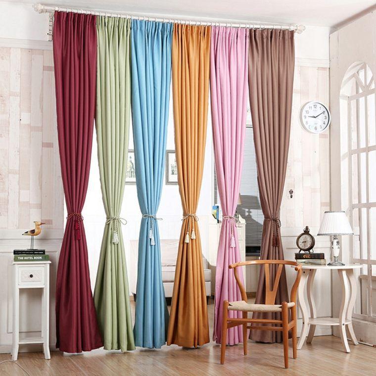 tende-moderne-per-soggiorno-colorate | Tende contemporanee ...