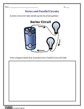 Series and Parallel Circuits Worksheets | Upper Elementary Other ...