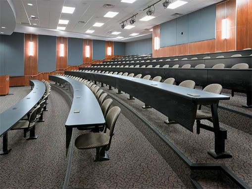 Tiered Classroom Design Standards ~ Ki seating in a nice tiered setting next gen