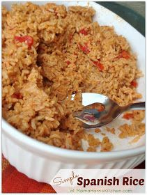 From the Kitchen of Mama Harris: Simple Spanish Rice