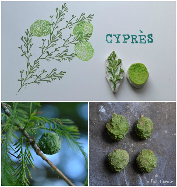 Nature inspired printmaking