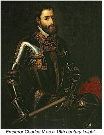 The most famous painting of Charles V, as a latter-day ...