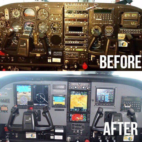 Glad To Be A Part Of JLC Avionics Cessna 206 Avionics
