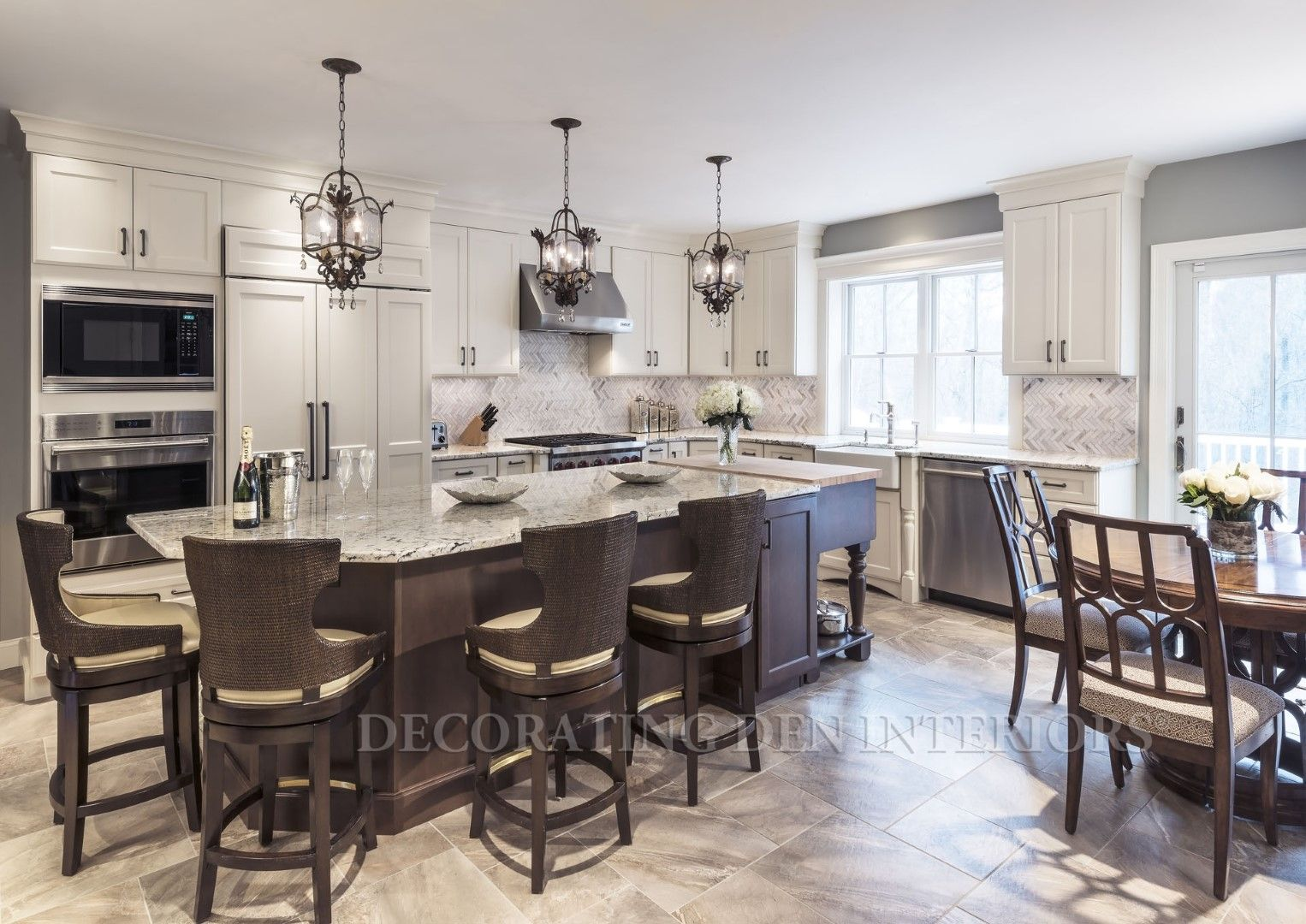 Kitchen design and accessories by Decorating Den Interiors ...