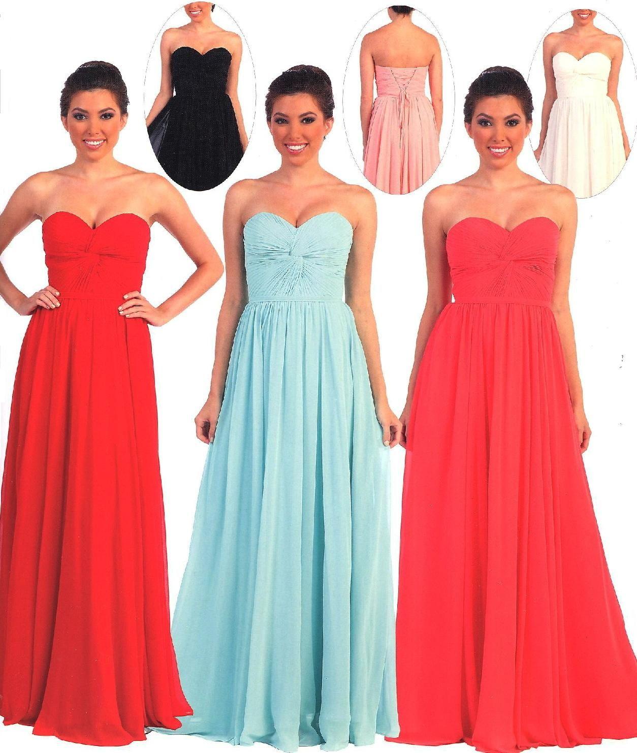 Evening Dresses<BR>Bridesmaid Dresses under $100<BR>8789<BR>Knot ...