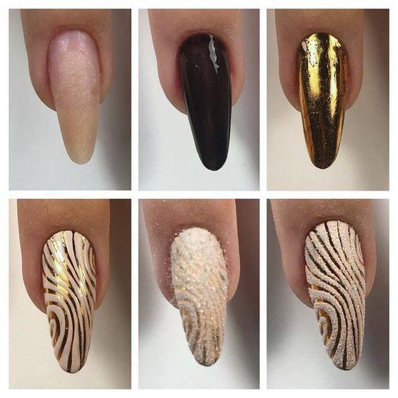 Маникюр на длинные ногти: новинки фото ногтей | Ногти ...