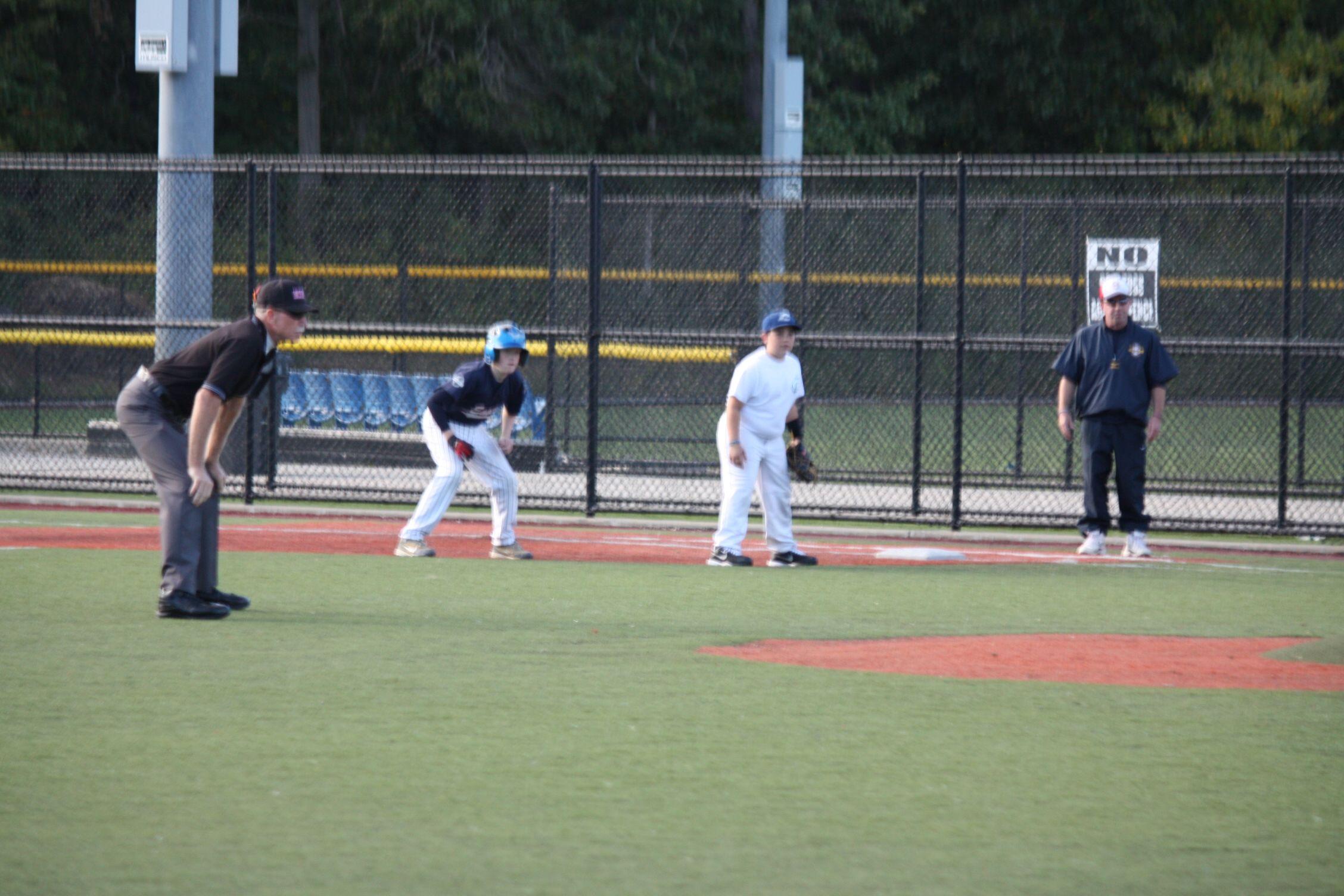 10u Eagles At Practice September 2014 Club Baseball Soccer Field Teams