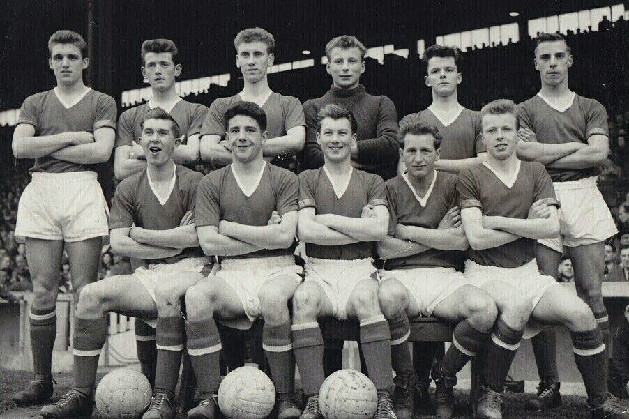 ac6a5db3cc6 Man Utd Youth Team in 1956-57.