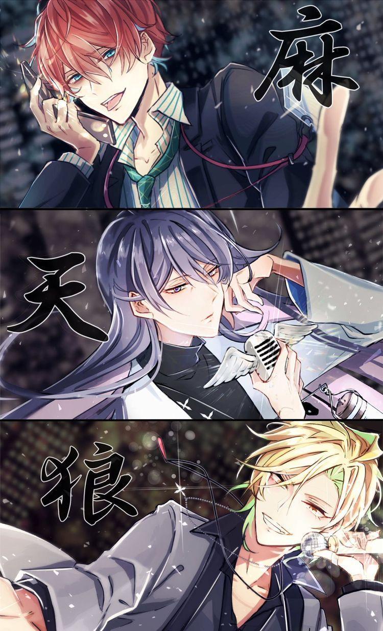 Hypnosis Mic Division Rap Battle Side F P And M Tlumaczenie Pl Anime Cute Anime Guys Anime Guys