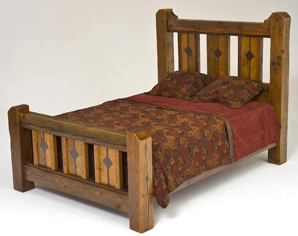 Barnwood Furniture Rustic Furnishings Log Bed Cabin Decor Fair Barn Wood Bedroom Furniture Inspiration
