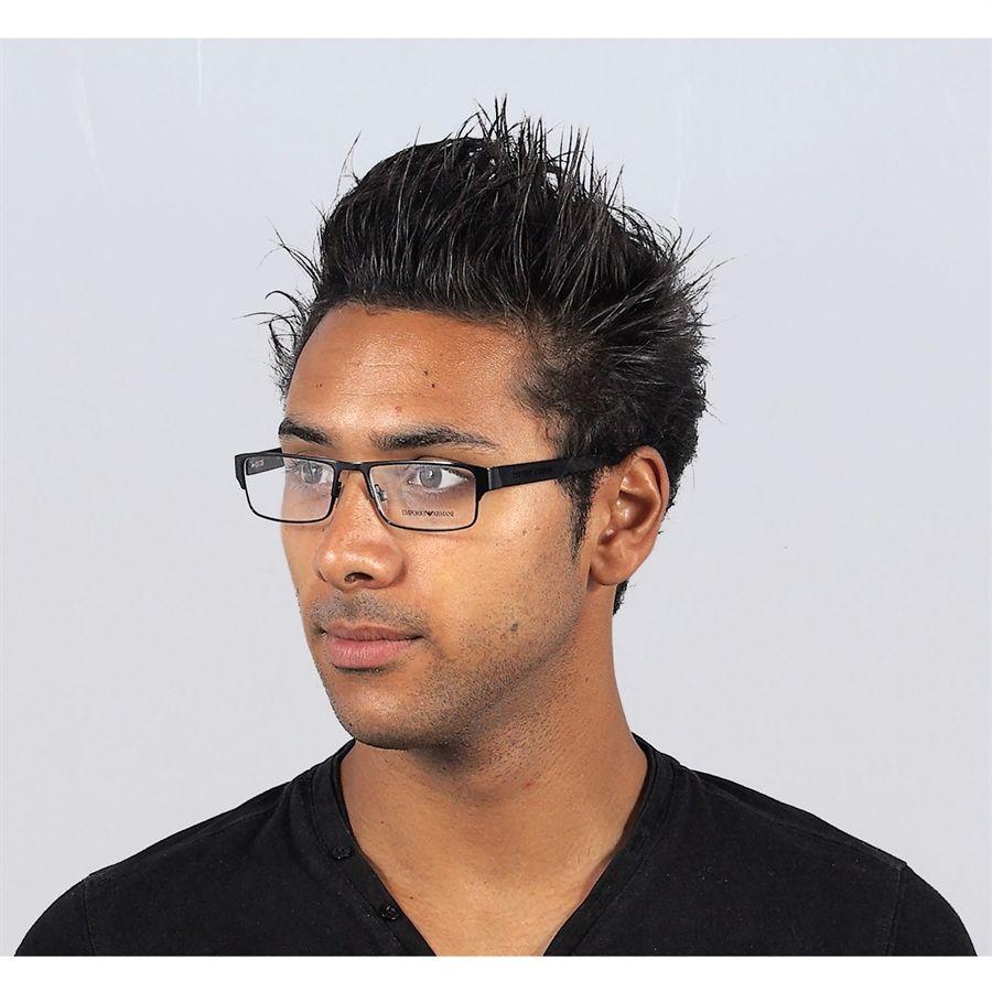 Oculos Grau Masculino Emporio Armani Metal Preto C Desconto