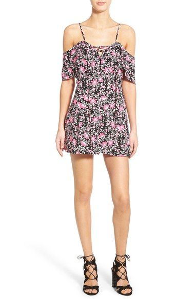 I don't wear polyester in summer, but this is looks kind of cute. i could edge it up with jewelry and some funkier shoes