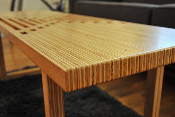 Handmade Birch Plywood Coffee Table Bench Plywood Coffee Table