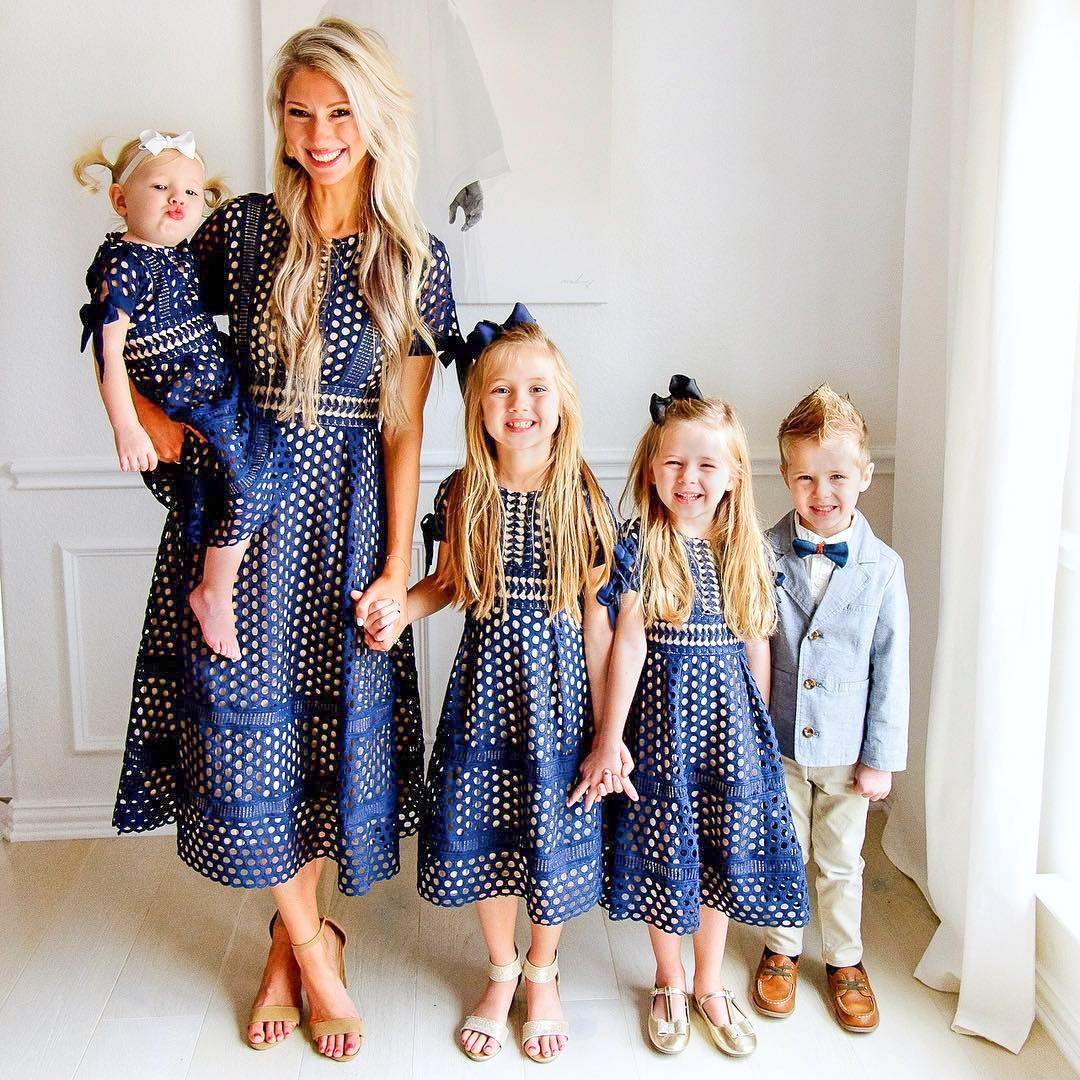 8fbeba147511 mom and me matching navy dresses janene crossley. ivy city co. modest  fashion.