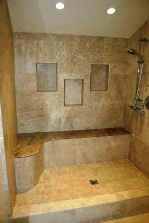 Image Detail For Custom Tile Shower Made Of Natural Stone