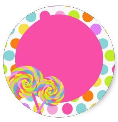 Lollipop frame | Scrapbooking | Pinterest | Birthdays ...