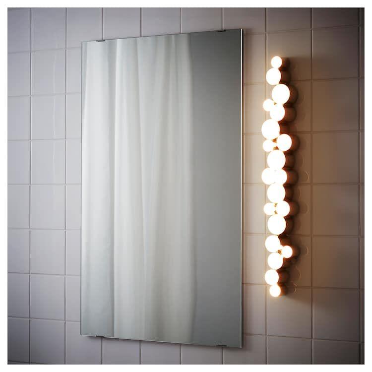 lampe salle de bain ikea bright
