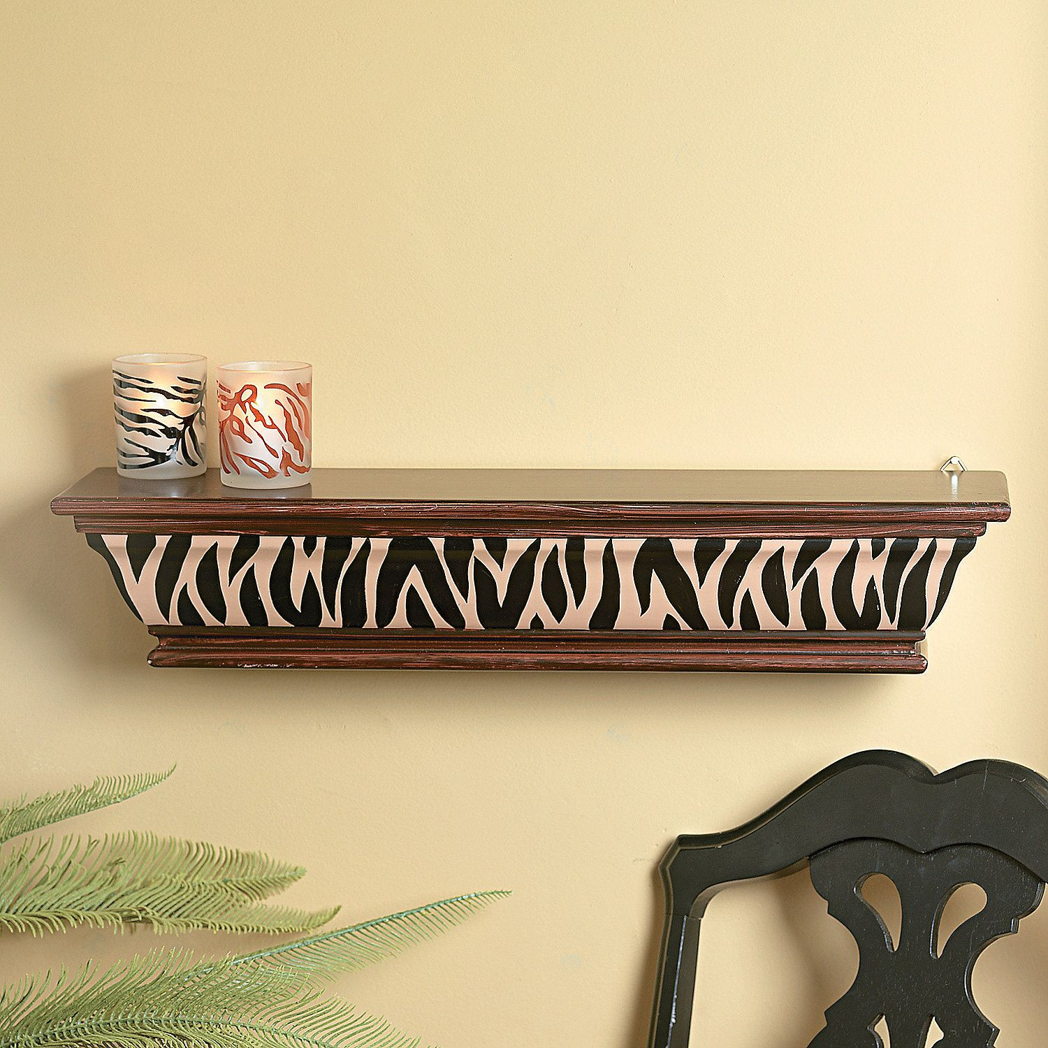 Animal Print Shelf - TerrysVillage.com | Living Room Ideas ...