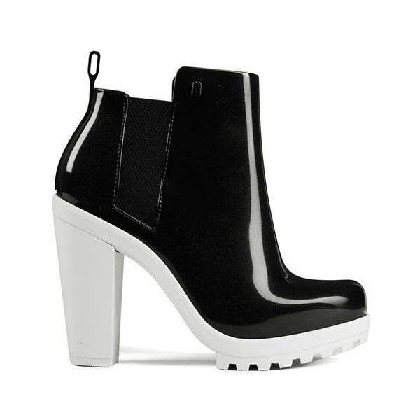 3b4a5c49cbae Melissa Women s Soldier 14 Heeled Chelsea Boots - Black ( 68) ❤ liked on  Polyvore featuring shoes