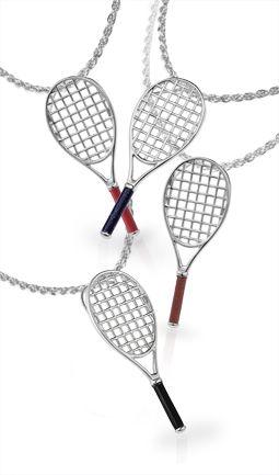 Tennis racquet pendant tennis pinterest tennis racquet pendant aloadofball Images