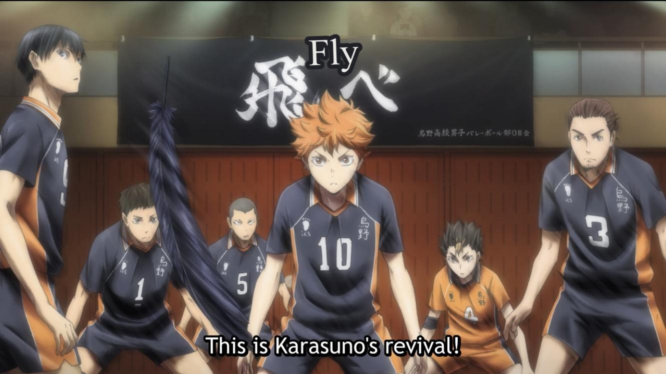 Karasuno S Volleyball Team Haikyuu Haikyu Haikyuu Karasuno