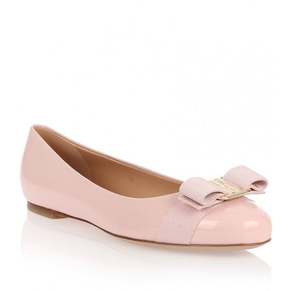 Salvatore Ferragamo Woven Varina ballerina shoes