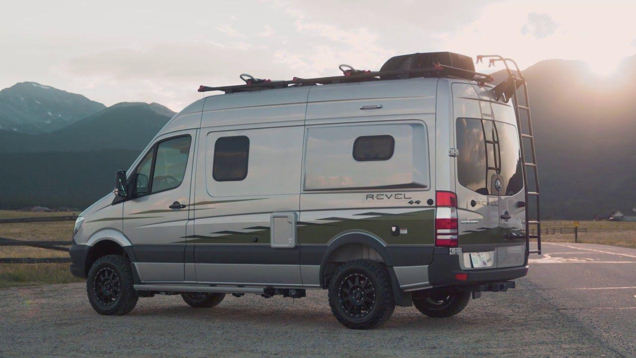 The Winnebago Revel Mercedes camper, Sprinter camper