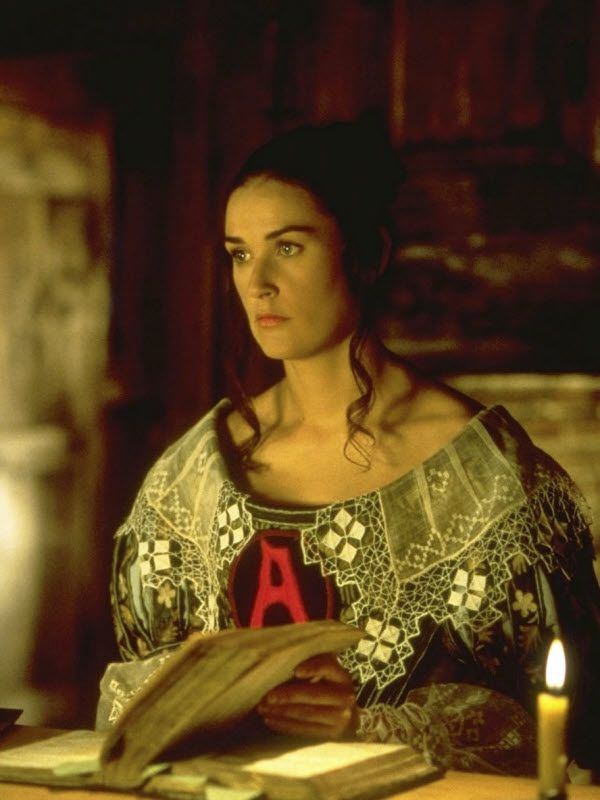 Who tries to rape Hester in the Scarlet Letter movie version?
