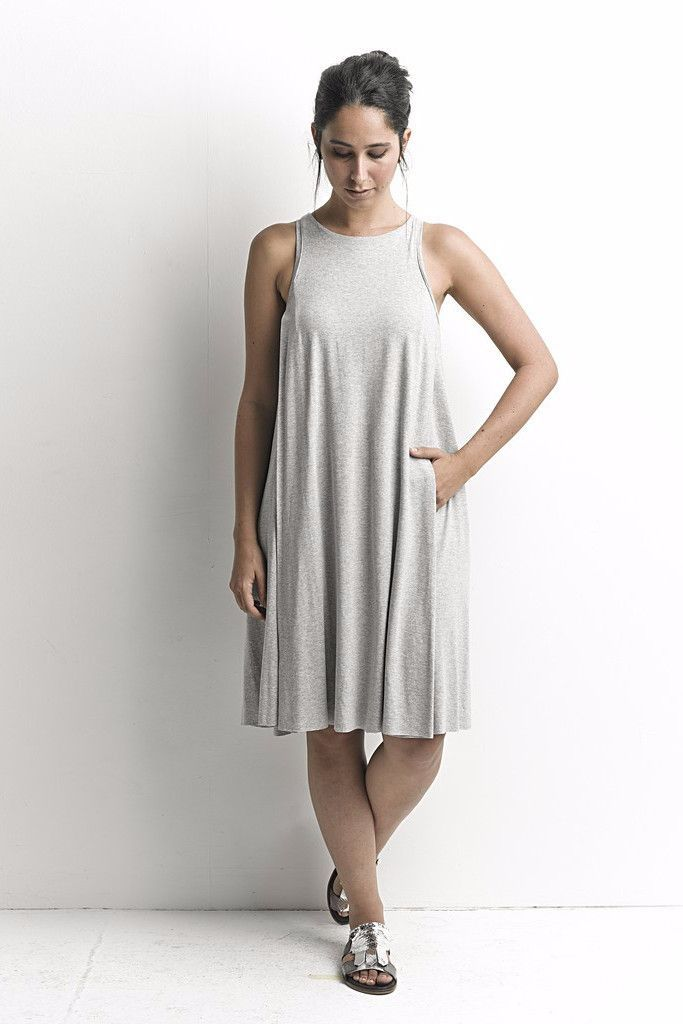 Casual Day Dress, Sleeveless Dress LAVELIQ