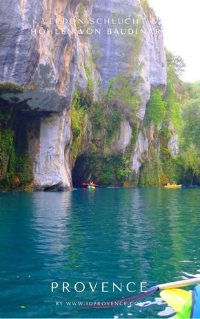 Gorges de Baudinard - Prähistorische Höhlen am Gorge du Verdon