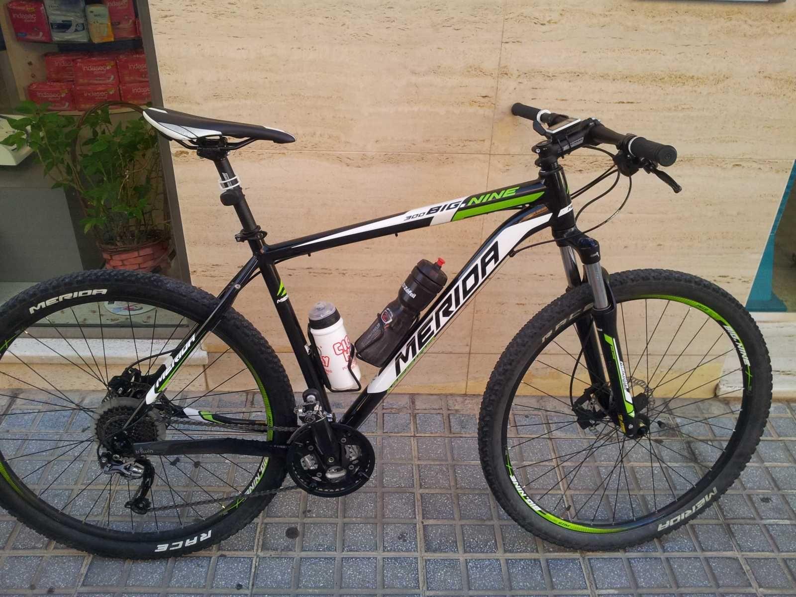 Bicicleta De Montaña Merida Big Nine Ref 36301 Talla 21 Año 2015 Cambio Shimano Slx Cuadro De Aluminio Bicicletas Bicicletas Mtb Bicicletas De Montaña