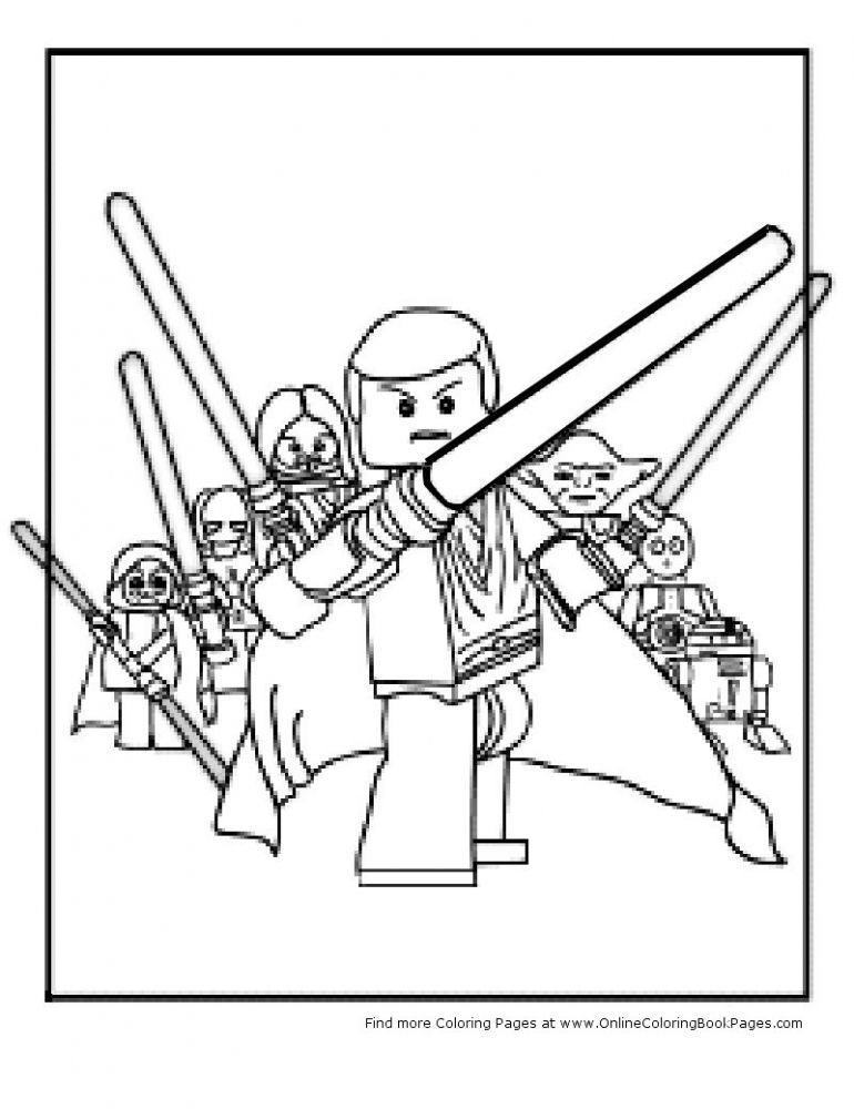 star wars coloring pages for kids | ... Pages | Coloring Online For ...