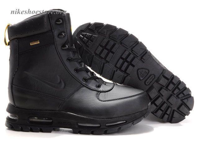 separation shoes 309f2 bd482 nike goadome boots   Authentic Nike Air Max Goadome ACG Boots  Obsidian Black-Mens Sale