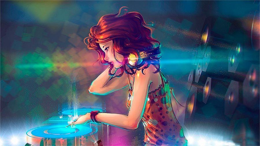 Dj Girl Manga Wallpaper Hd Www Djlogic Es Music And Dj