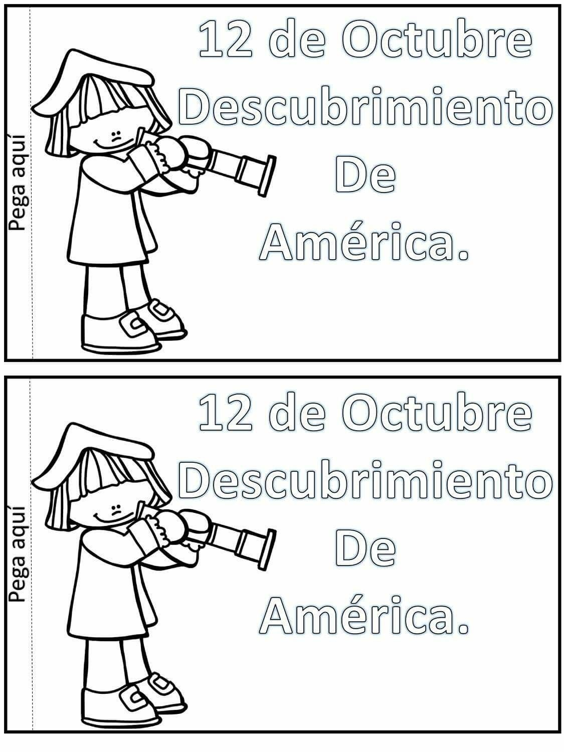 Christopher Columbus Day Worksheet For Kindergarten