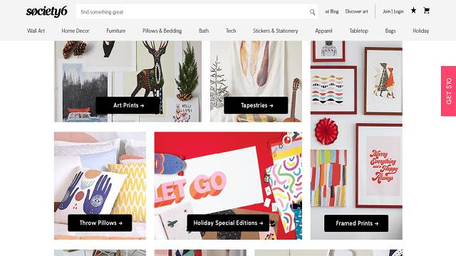 Sites Like Redbubble Printing Websites Framed Prints Home Decor Furniture