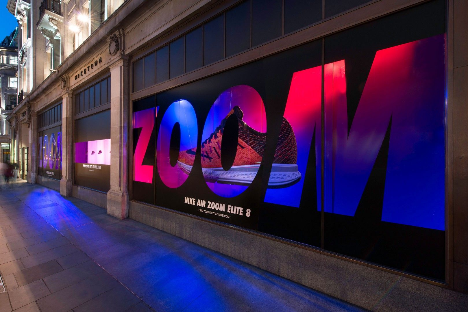 Nike's Kinect-Powered Window Displays Are Watching You | Scores, Window  displays and Business design