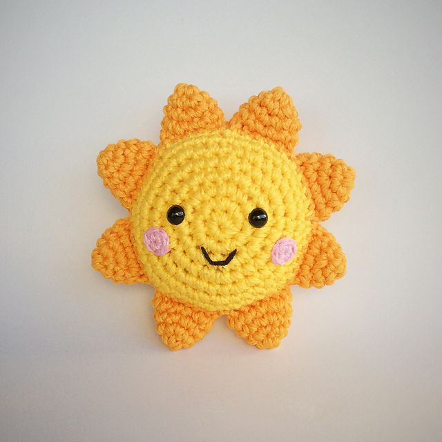 Sonne Häkelnamigurumi Anleitung Häkeln Etc Crochet Crochet