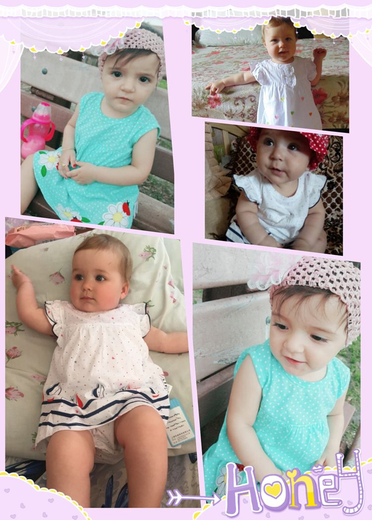 nice baby girl rompers summer 100% cotton infant jumpsuits roupas