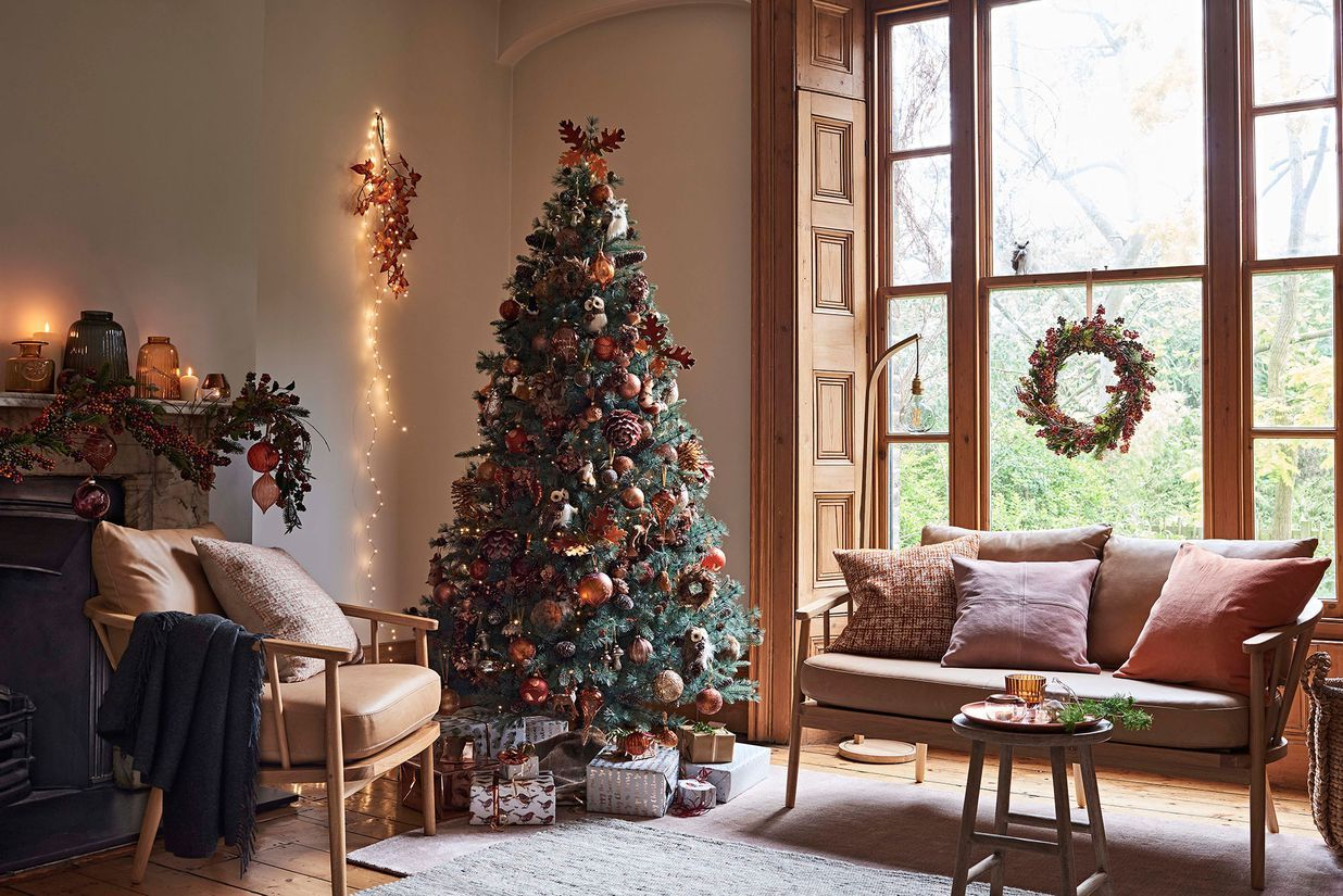 John Lewis Christmas Tree Decorations.John Lewis Reveal Their 8 Christmas Decorating Themes For