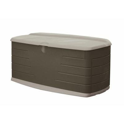 Outdoor Storage Benches Rubbermaid 90 Gal Large Deck Box With