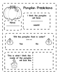 free printable fall themed worksheet for students to practice making and testing predictions check - Halloween Worksheets For 1st Grade