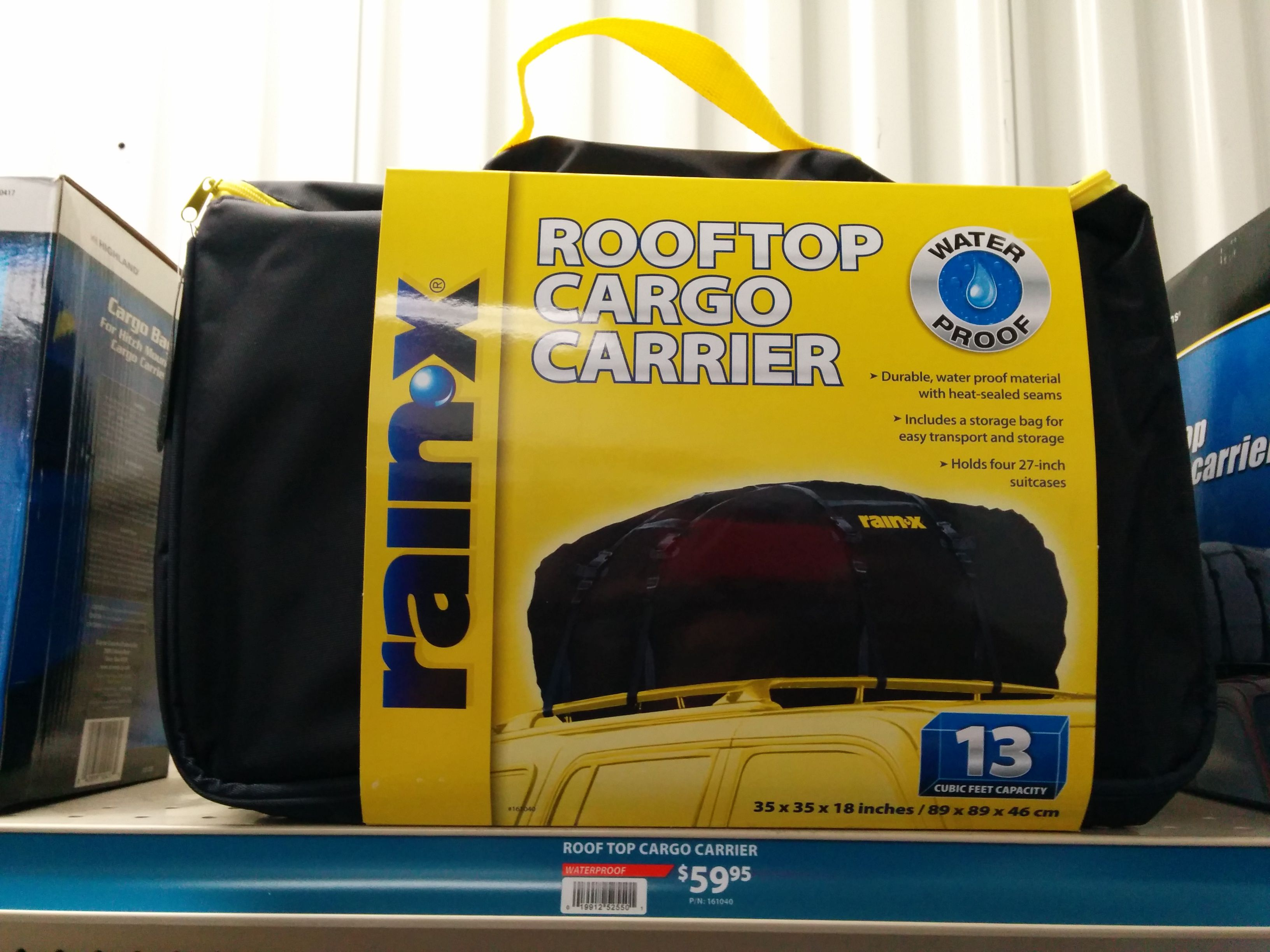 Using a Roof Rack Cargo Carrier | Roof Rack Cargo Carrier ...